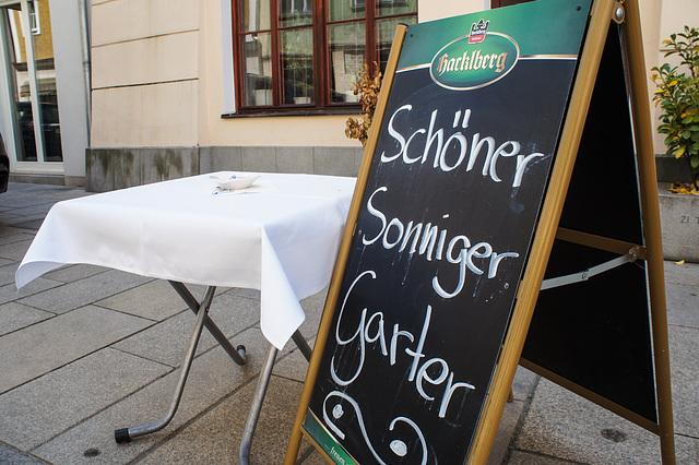 Gilt in Niederbayern sogar bei Regenwetter!