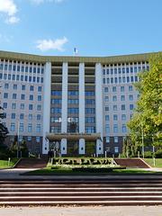 Chisinau- Moldovan Parliament Building