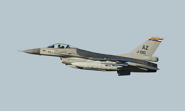 Royal Netherlands Air Force General Dynamics F-16A Fighting Falcon J-010