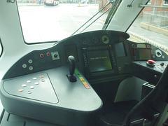 DSCF5293 Driver's cab on NET (Nottingham Express Transit) tram 220 - 25 Sep 2016