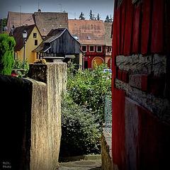 Barr capitale viticole du Bas-Rhin, Alsace  France