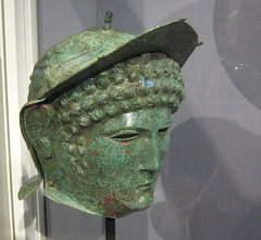 Cavalry Helmet and Face Mask