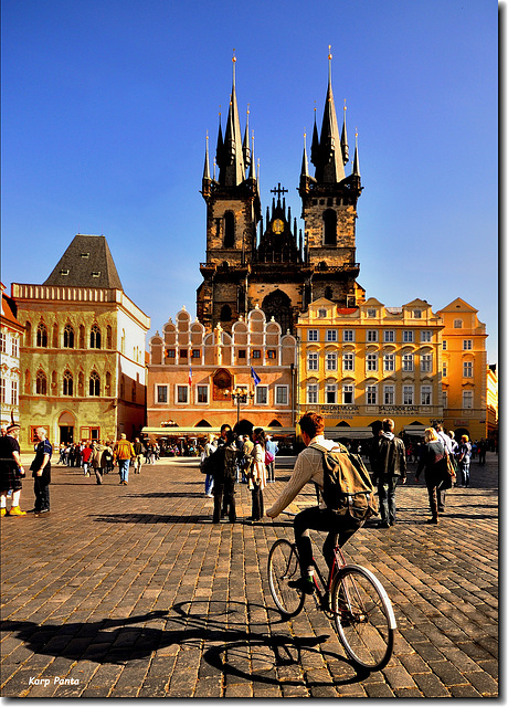 """""""Týn Church"""" - Staroměstské náměstí - PRAGA"""