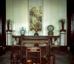 Sitting-room of A Chinese Country Gentleman