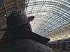 Betjeman statue, St Pancras.
