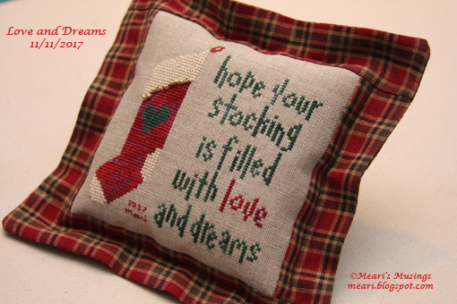 Love & Dreams Pillow 11/11/2017