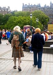 Gentleman in a Kilt, Edinburgh