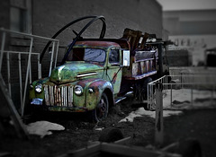 1947 Ford dumptruck
