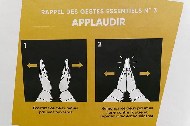 Geste essentiel n° 3