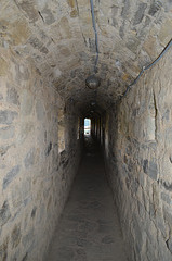 Каменец-Подольская Крепость, Коридор внутри Северной стены