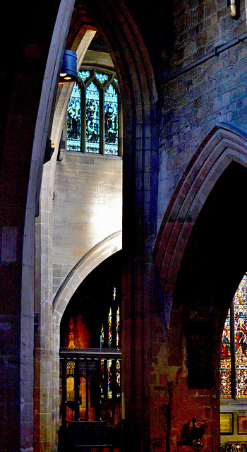 Arches and Windows.St Nicholas Cathedral