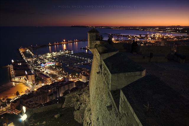Nocturna des del castell