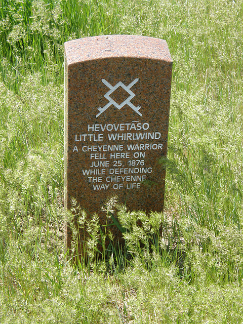 Grave at Little Bighorn