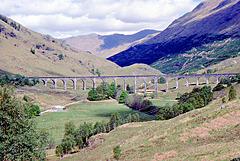 Glen Finnan Viaduct 25th May 1989