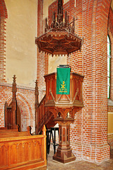 Banzkow, Kirche, Kanzel