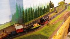 Zeuke-Eisenbahn aus den 1950ern
