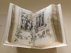 The Hours of Jeanne D'Evreux in the Cloisters, October 2017