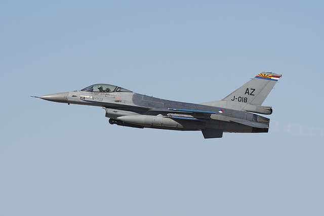 Royal Netherlands Air Force General Dynamics F-16A Fighting Falcon J-018 (89-0018)
