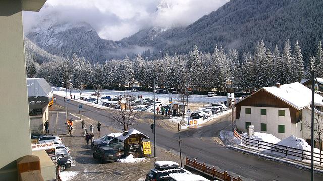So ein schöner Tag. Canazei, Trentino, Italien