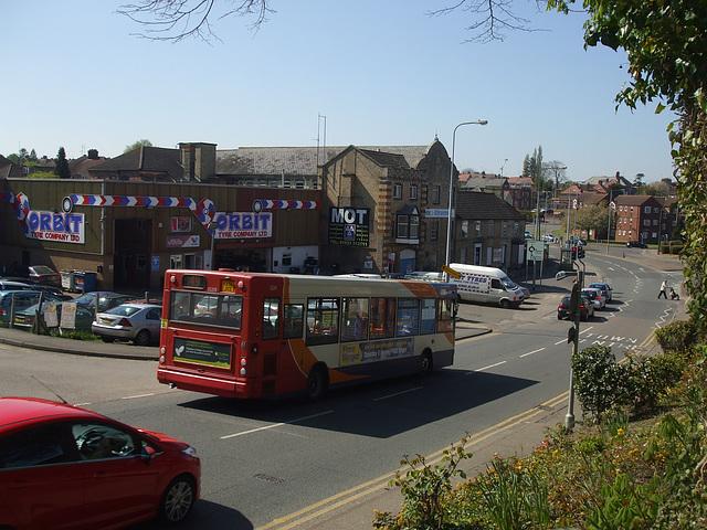 DSCF8977 Stagecoach (Midlands) KX56 JYZ