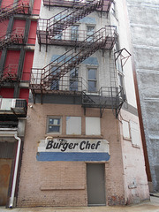 old Burger Chef sign