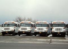 Crew buses