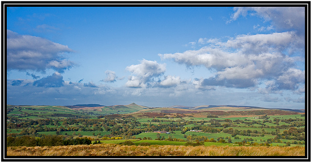 Cloud above the southern Pennines