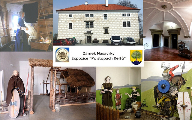 Ekspozicio pri keltoj en la kastelo Nasavrky