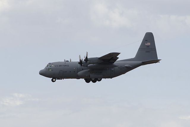 Alaska Air National Guard Lockheed C-130H 82-0057