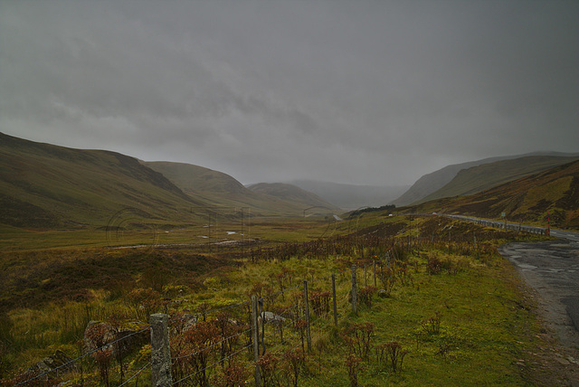 Cairnwell Pass, Glen Shee to Braemar