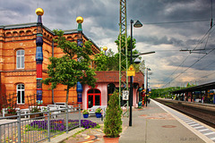 Uelzen, Bahnhof