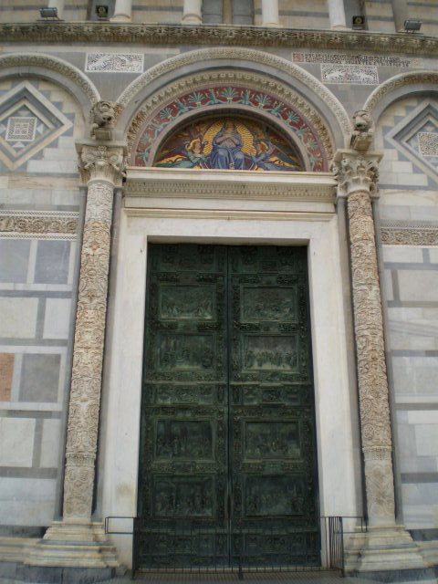 Main door of Pisa Cathedral.