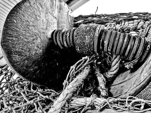 Nets Rope and Floats