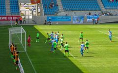 Spielszene CFC vs. Fürstenwalde ...
