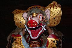 Barong dance in Desa Sembung
