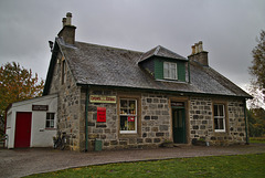 Store and post office, Highland Folk Museum, Newtonmore
