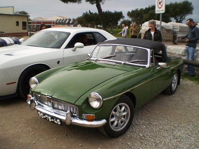 MG B (1965).
