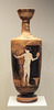 Lekythos Attributed to the Circle of the Phiale Painter in the Getty Villa, June 2016