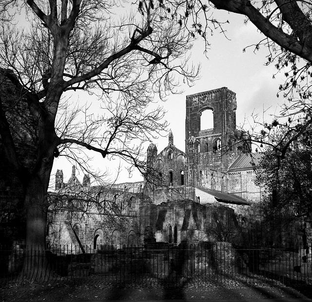 The Abbey in Winter