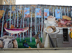 Mural, downtown Cincinnati