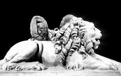 Némée , son lion , et Mythologie  droite dans ses bottes .