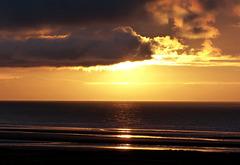 Another sunset at Koksijde Belgium