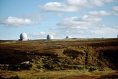 Fylingdales Radar Station 9th October 1988