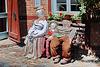 Gadebusch, Bank in der Sonne ... Happy Bench Monday