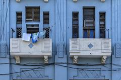 Art déco in blue