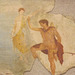 Detail of a Wall Painting of Perseus and Andromeda from Herculaneum in the Naples Archaeological Museum, July 2012