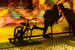 FoL 2016 - night. bike. kiss