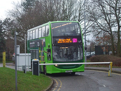 DSCF5779 Konectbus 629 (SN65 OAJ) at Norwich Airport - 11 Jan 2019