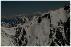 Voie normale du Mont Blanc côté français