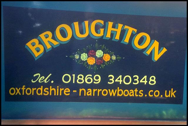 Broughton narrowboat